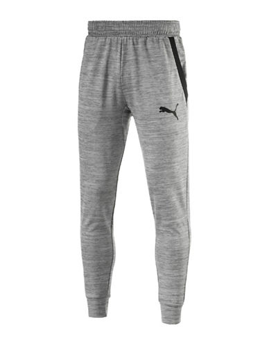 Puma Tech Fleece Trackster Pants-GREY-X-Large 89152726_GREY_X-Large