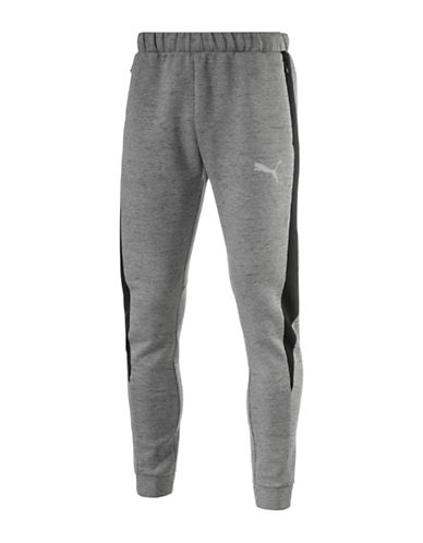 Puma Evostripe SpaceKnit Pants-GREY-X-Large 88978165_GREY_X-Large