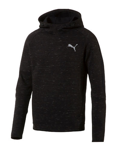 Puma Evostripe SpaceKnit Hoodie-BLACK-Medium 89182126_BLACK_Medium