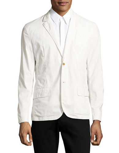 Michael Bastian Deconstructed Cotton Ripstop Jacket-NATURAL-Small 89023575_NATURAL_Small
