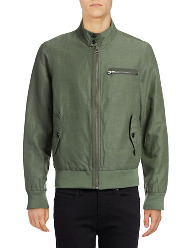Michael Bastian Barracuda Cargo Jacket-GREEN-Small