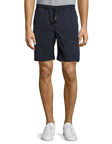 Michael Bastian Pocket Shorts-NAVY-X-Large