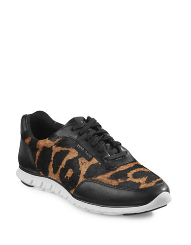 Cole Haan Zerogrand Calf Hair Sneakers-OCELOT-5