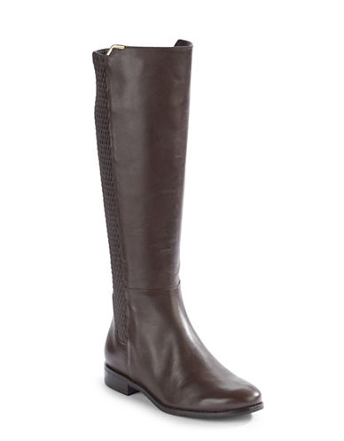 Cole Haan Rockland Leather Riding Boots-CHESNUT-9
