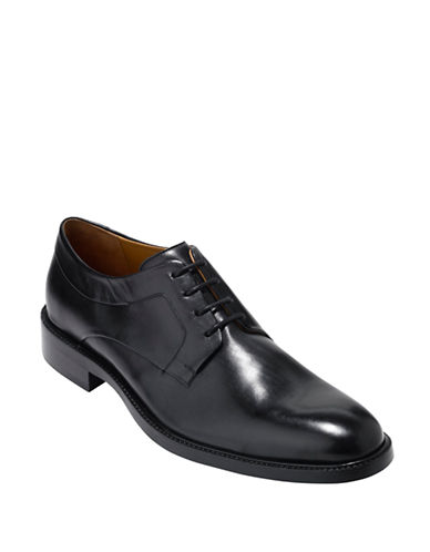 Cole Haan Warren Plain OX Oxfords-BLACK-7.5