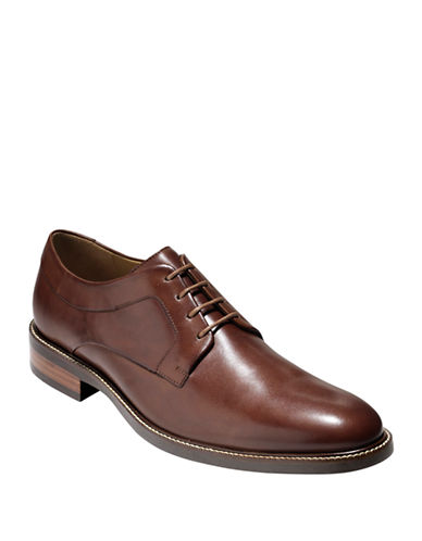 Cole Haan Warren Plain OX Oxfords-TAN-12