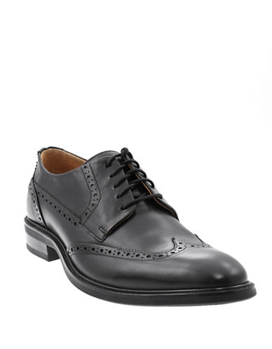 Cole Haan Oxford Dress Shoes-BLACK-8.5