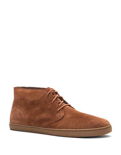 Cole Haan Pinch Suede Chukka Boots-BROWN-11.5