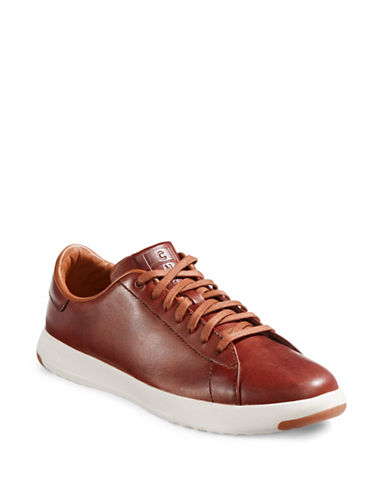 Cole Haan GrandPro Tennis Shoes-BROWN-12