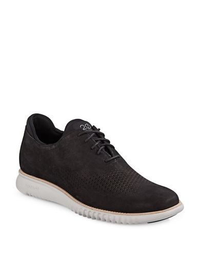 Cole Haan 2.0 Grand Laser Wing Oxford Shoes-BLACK-13