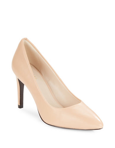 Cole Haan Amelia Point Toe Pumps-BEIGE-9