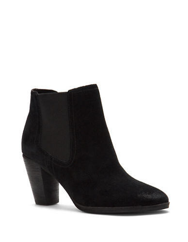 Cole Haan Hayes Ankle Booties-BLACK-7.5
