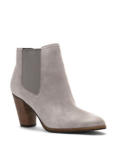 Cole Haan Hayes Suede Leather Booties-GREY-8
