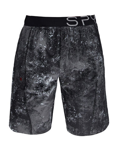 Spyder Rhodes Lightweight Shorts-BLACK-Large