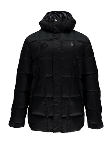 Spyder Diehard Parka Down Jacket-BLACK-XX-Large 88811904_BLACK_XX-Large
