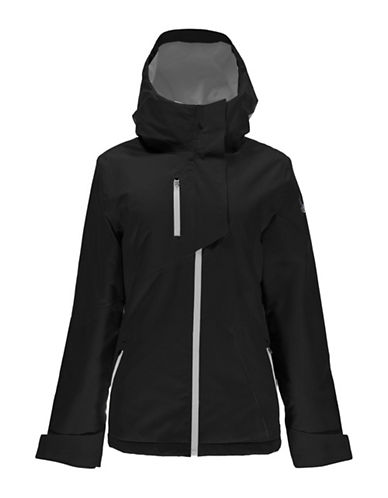 Spyder Avery Zip-Front Jacket-BLACK-X-Large 88799718_BLACK_X-Large