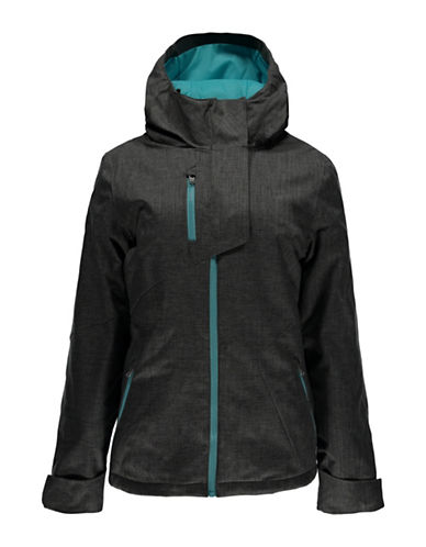 Spyder Avery Zip-Front Jacket-GREY-Small 88799720_GREY_Small