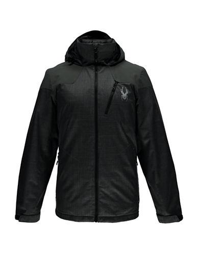 Spyder Vyrse Zip Front Jacket-GREY-XX-Large 88811989_GREY_XX-Large