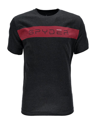 Spyder Limitless Graphic Printed Tee-BLACK-X-Large