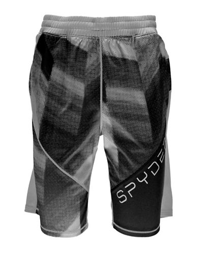 Spyder Davos Printed Shorts-WHITE-Small