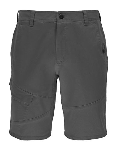 Spyder Turner Tech Shorts-GREY-36