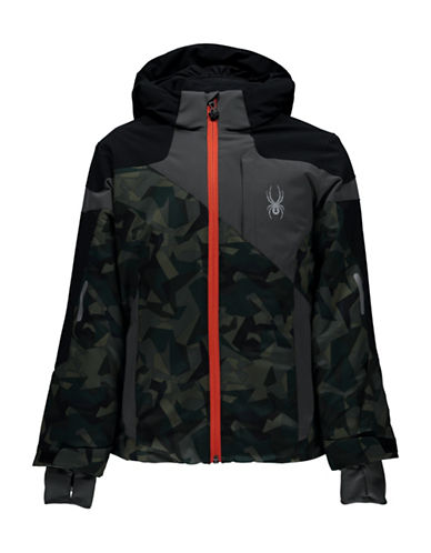 Spyder Hooded Chambers Jacket-GREEN-18