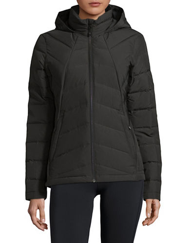 Spyder Syrround Quilted Jacket-BLACK-Large