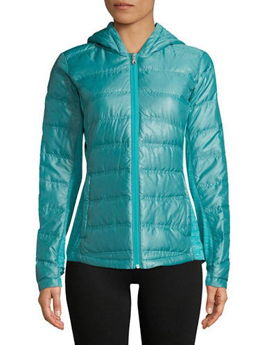 Spyder Solitude Quilted Puffer Jacket-BLUE-Small