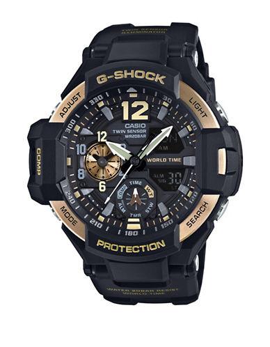 Casio Analog Gravity Master Watch-BLACK-One Size