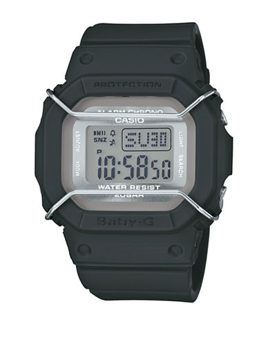 Casio Digital Urban Military BABY G Resin Watch-GREEN-One Size