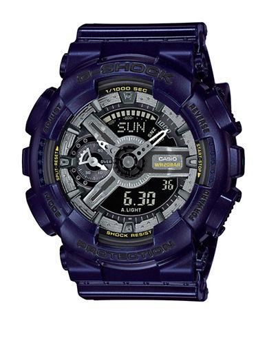 Casio Digital Dark Metallics S Series Watch-BLUE-One Size