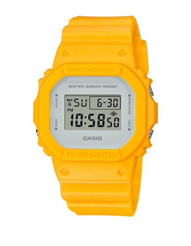 Casio DW5600 Digital Classic Case G-Shock Watch-YELLOW-One Size
