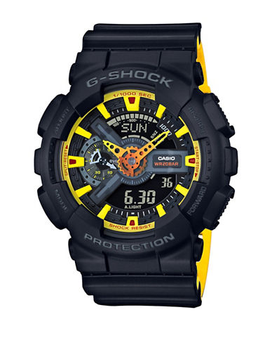 Casio Analog Digital Bi Colour G-Shock Watch-BLACK-One Size