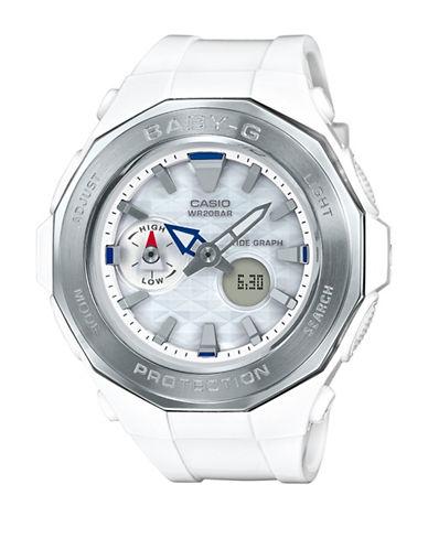 Casio Digital Analog Beach Glamping Baby G Watch-WHITE-One Size