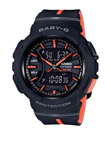 Casio Digital Analog Two-Tone Baby G Watch-BLACK-One Size