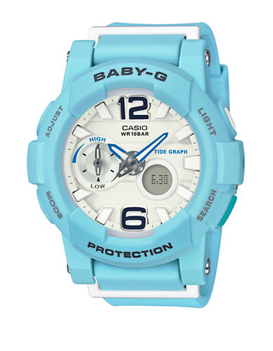 Casio Analog Digital Beach Colour Baby G Watch-BLUE-One Size
