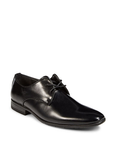 1670 Almond Toe Dress Shoes-BLACK-9.5