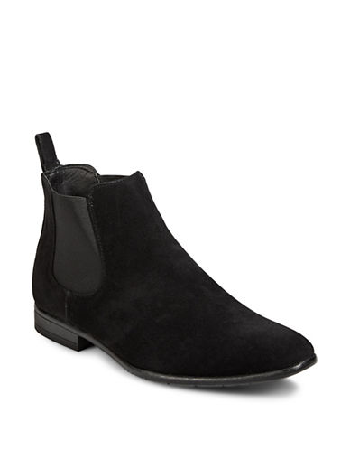 1670 Almond Toe Chelsea Boots-BLACK-11