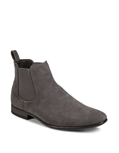 1670 Almond Toe Chelsea Boots-GREY-8