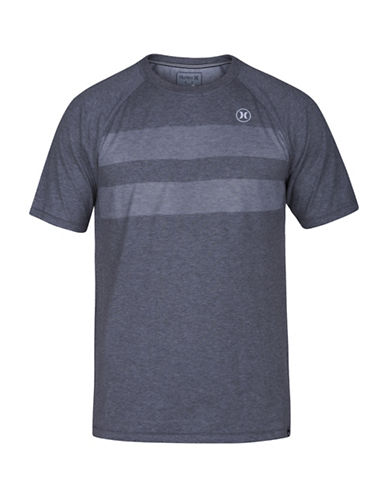 Hurley Phantom Block Party Dri-Fit T-Shirt-CHARCOAL-Large 88671375_CHARCOAL_Large