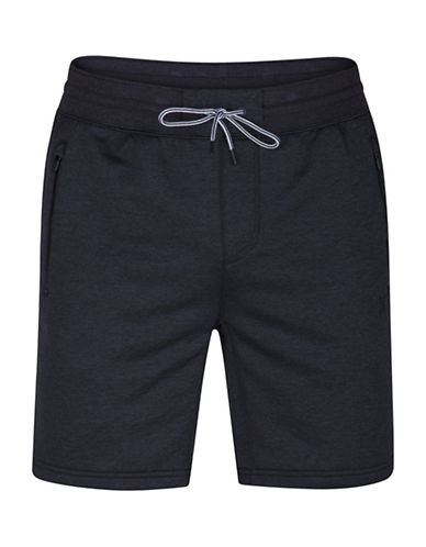 Hurley Disperse 2.0 Heathered Drawstring Shorts-BLACK-Small 89104154_BLACK_Small