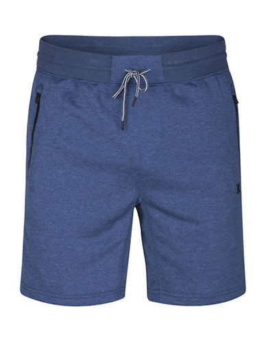 Hurley Disperse 2.0 Heathered Drawstring Shorts-BLUE-X-Large 89104167_BLUE_X-Large