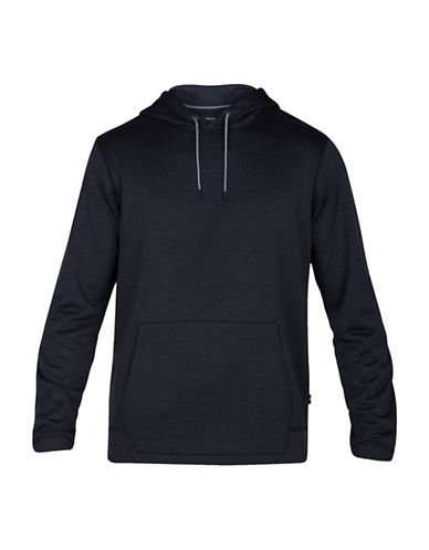 Hurley Disperse 2.0 Heathered Drawstring Hoodie-BLACK-Large 89104189_BLACK_Large