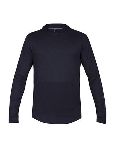 Hurley Lagos 2.0 Knitted Raglan Hoodie-BLACK-Medium 89104198_BLACK_Medium