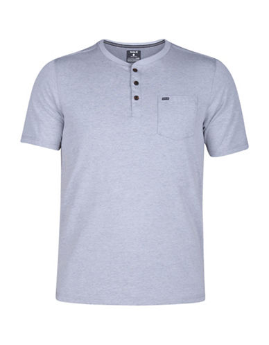 Hurley Lagos 3.0 Knitted Henley-GREY-Large