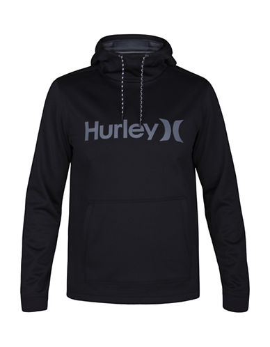 Hurley Therma Protect Hoodie-BLACK-Small