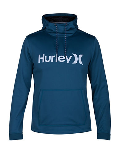 Hurley Therma Protect Hoodie-BLUE-Medium