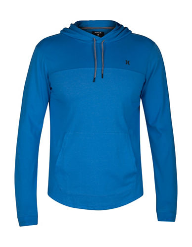Hurley Drifit Lagos Long Sleeve T-shirt-BLUE-XX-Large