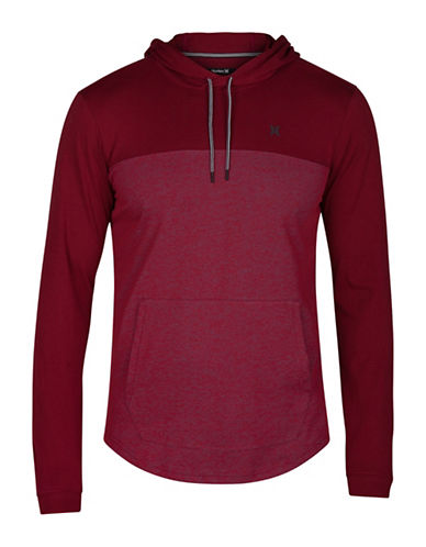 Hurley Drifit Lagos Long Sleeve T-shirt-RED-Small 89467608_RED_Small