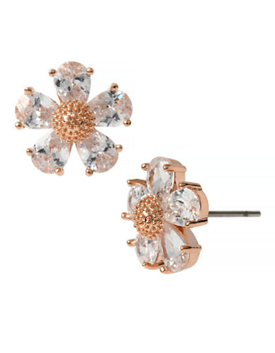 Betsey Johnson Crystal Flower Stud Earring-MULTI COLOURED-One Size